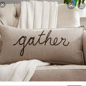 """""""Gather"""" Pottery Barn Pillow Covers"""